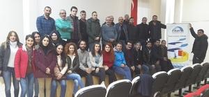 Tunceli'de rehber öğretmenlere eğitim verildi