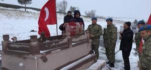 Silah arkadaşları şehidi Ömercan Yekebağcı'yı unutmadı