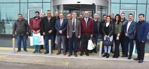 Başkan Karaçoban'dan gazetecilere jest
