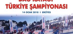 Erciyes'te ilk kez Dağ Kayağı Şampiyonası düzenlenecek