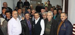 Başkan Tutal, mahalle sakinleriyle bir araya geldi