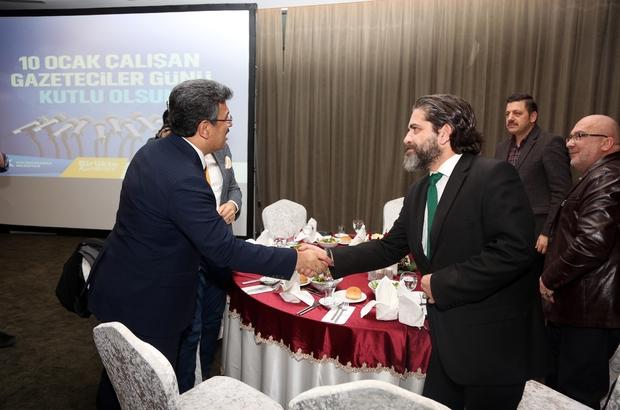 Başkan Karadeniz, Gazeteciler Günü'nde basın mensuplarıyla yemekte buluştu