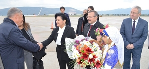 Tataristan Cumhurbaşkanı Minnihanov'dan sürpriz ziyaret