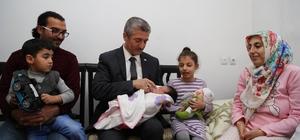 """Şahinbey'de 7 yılda 81 bin bebeğe """"Hoş geldin"""" hediyesi"""