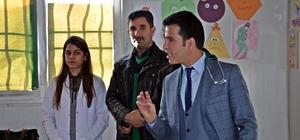 Suriyeli çocuklara hijyen ve temizlik eğitimi verildi
