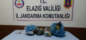 Elazığ'da 2 şüpheli 6 kilogram uyuşturucu ile yakalandı