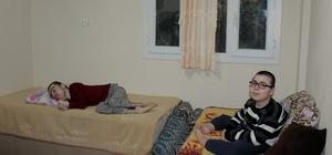 Engelli kardeşlerin tek hayali Necati Şaşmaz'ı görmek
