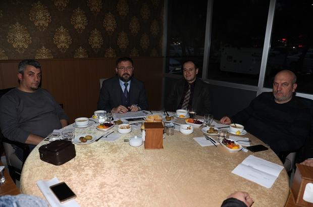 Mezarlık çalışanları Körfez'de buluştu