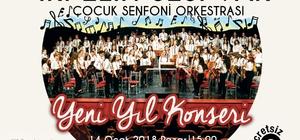 Çocuk Senfoni Orkestrasından yeni yıl konseri