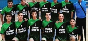 Voleybol turnuvasında Şehit Deniz Kaya Mesleki ve Teknik Lisesi ilçe birincisi oldu