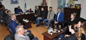CHP heyeti Didim Ticaret Odası'nı ziyaret etti