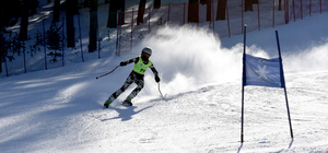 Sarıkamış'ta kayak yarışları