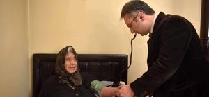 """Taşköprü Belediyesi'nin """"Evde Sağlık Hizmeti"""" uygulaması büyük beğeni topladı"""