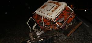 Kastamonu'da minibüsle traktör çarpıştı: 1 ölü, 2 yaralı