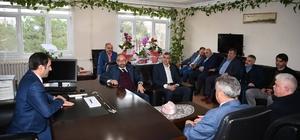 Başkan Üzülmez'den Kartepe ilçe Milli Eğitim Müdürü'ne hayırlı olsun ziyareti