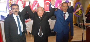 Emet'te Abdullah Ünal yeniden seçildi