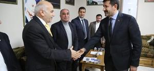 Başkan Ekinci esnaf temsilcileriyle buluştu