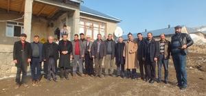 Başkan Kılıç'tan köy ziyaretleri
