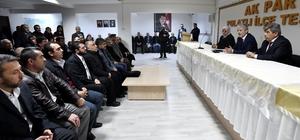 Başkan Mustafa Tuna Polatlı'da