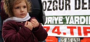 İHH'dan Suriye'ye insani yardım