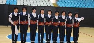 Erzincan'da Halk Oyunları İl Birinciliği Yarışmaları yapıldı