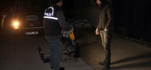 İş yeri çalışanlarınca yakalanan hırsızlık şüphelisi darbedildi