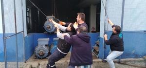 TESKİ Çorlu'daki yeni lojistik deposuna taşınma işlemini sürdürüyor