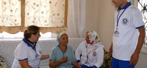 Akdeniz'in 'Evde Bakım Hizmetleri' başarıyla sürüyor