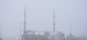 Kars'ta yoğun sis hava ulaşımını etkiledi