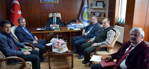 Başkan Kaya'dan değerlendirme toplantısı