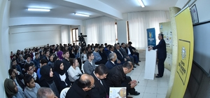 Başkan Akyürek, lise öğrencileriyle bir araya geldi
