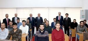 """Sivas'ta """"Makinist Yetiştirme Kursu"""" açıldı"""