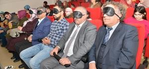 Görme engelli çocuklar için sesli sinema etkinliği düzenlendi