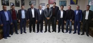Başkan Ekinci kent konseyi üyeleriyle bir araya geldi