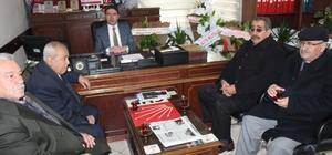 İşçi emeklilerinden CHP'ye ziyaret
