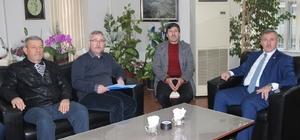 AK Parti'li Özdağ'dan Saruhanlı'ya doğalgaz müjdesi