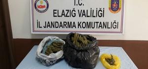 Jandarma ekipleri, 7 kilo uyuşturucu ele geçirdi