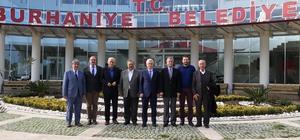 BASKİ Genel Müdürü Başkan Uysal'ı ziyaret etti