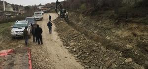 İki mahallenin daha içme suyu terfi hattı tamamlandı