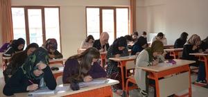 Malatya'da bursluluk sınavına yoğun ilgi