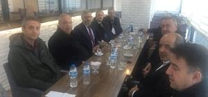 Başkan Kutlu birim müdürleriyle değerlendirme toplantısı yaptı