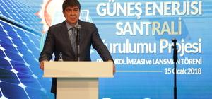 Antalya'ya güneş enerjisi santrali