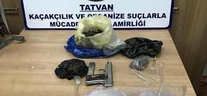Tatvan'da uyuşturucu operasyonu: 2 tutuklama