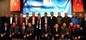 BB. Erzurumspor yönetimi görev dağılımı yaptı