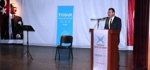 Çandıroğlu, TÜGVA ödül törenine katıldı