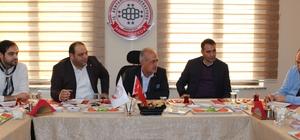 Rektör Çomaklı, BİRKONFED Erzurum Temsilciliğini ziyaret etti