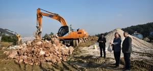 Mesir Tabiat Parkı 2. etabında çalışmalar başladı