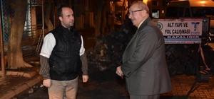 Başkan Albayrak Süleymanpaşa'daki çalışmaları yerinde inceledi