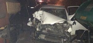 Düzce'de trafik kazası : 1 ölü