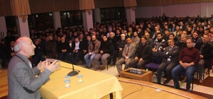 Tarihçi-Yazar Prof. Dr. Ahmet Şimşirgil Seydişehir'de konferans verdi